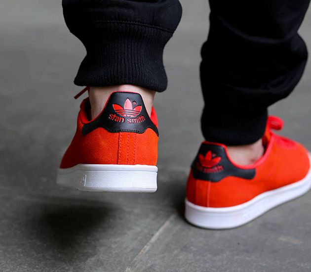 sports shoes 6d919 93792 adidas Stan Smith-Red-Red-Core Black