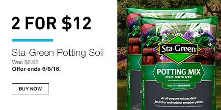 2 For 12 Sta Green Potting Soil Was 6 98 Offer Ends 16 Now