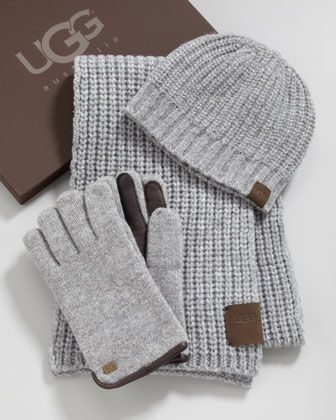 Hat Scarf Gloves Box Set By Ugg Australia At Neiman Marcus Ugg Hats Ugg Winter Boots Australia Hat