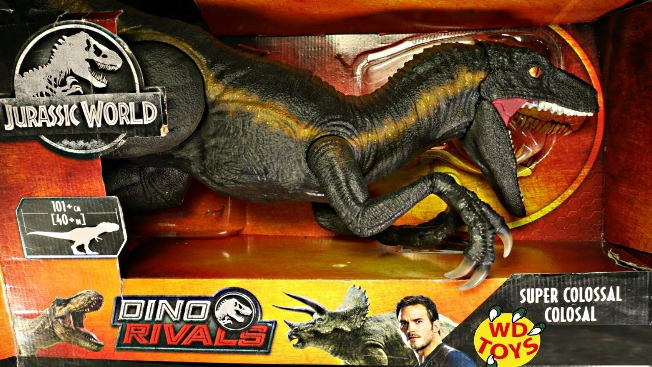 Jurassic World Super Colossal Indoraptor Unboxed World S 1st Indoraptor Jurassic World Indominus Rex Jurassic Park Toys Jurassic World