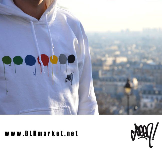 hand of Doom Hoodies by SEEN.  www.BLKmarket.net