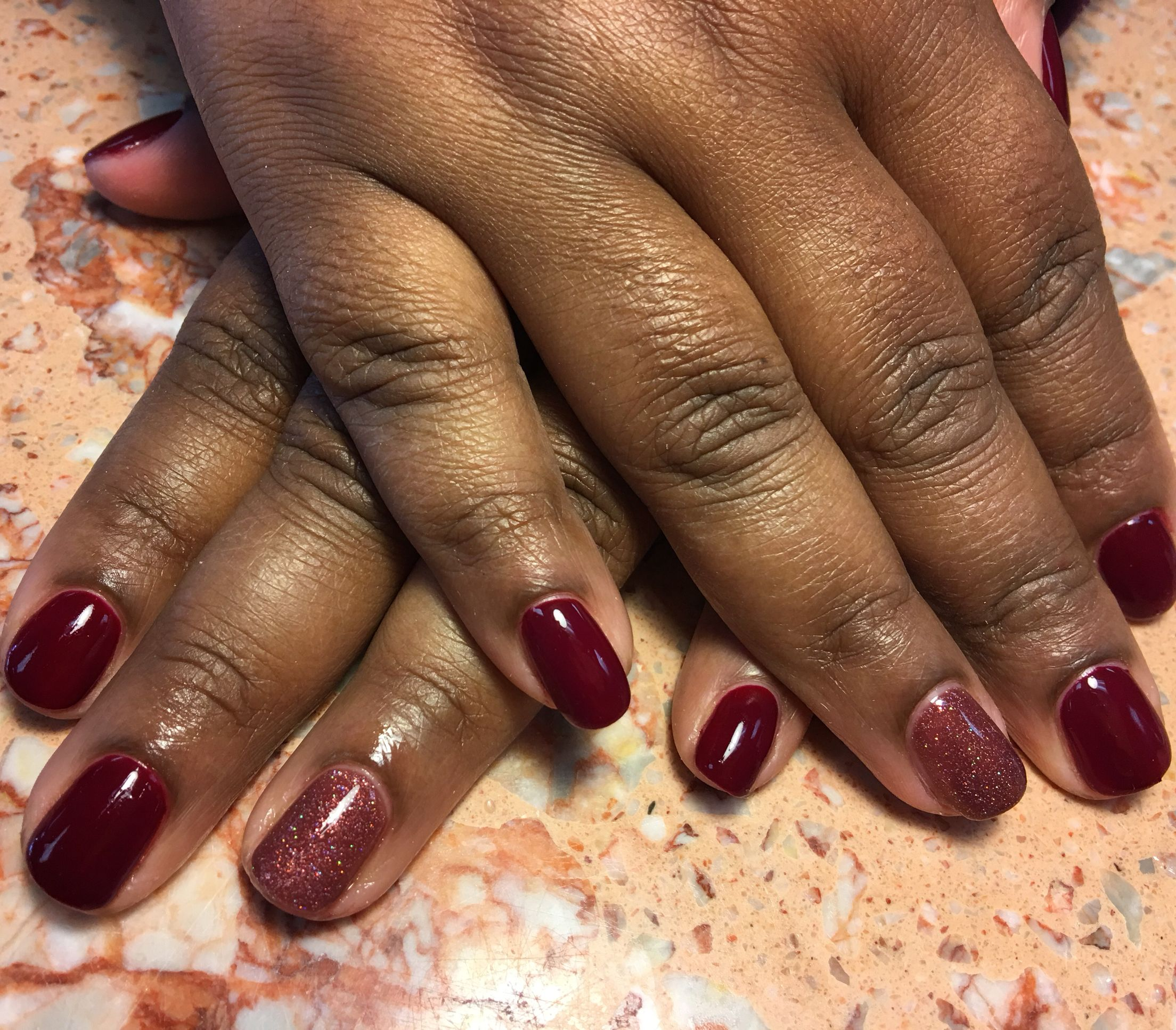 Royal Red By Perfect Match Brandy By Cacee Gelmani Gelpolish Gelcolor Gelnails Perfectmatch Cacee Caceebeauty Nails Gel Mani Gel Nails