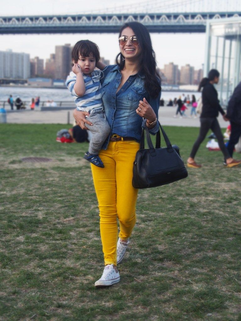 Fashion week How to mustard wear yellow pants for lady