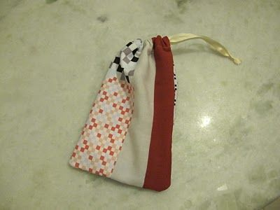 5+5: Como fazer um saco de pano com forro