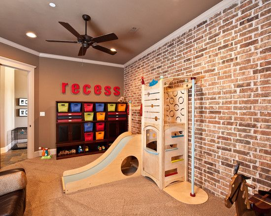 Best Recess Sign For Play Area Brick Wall Bedroom Kids 640 x 480