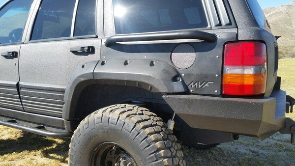 Zj Rear Quarter Panel Armor Pair Jeep Zj Jeep Wj Jeep Bumpers