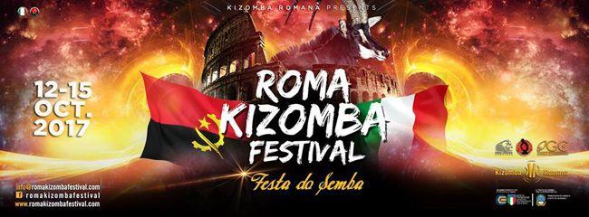 Roma Kizomba Festival  Festa do Semba  dal 12 al 15 Ottobre 2017