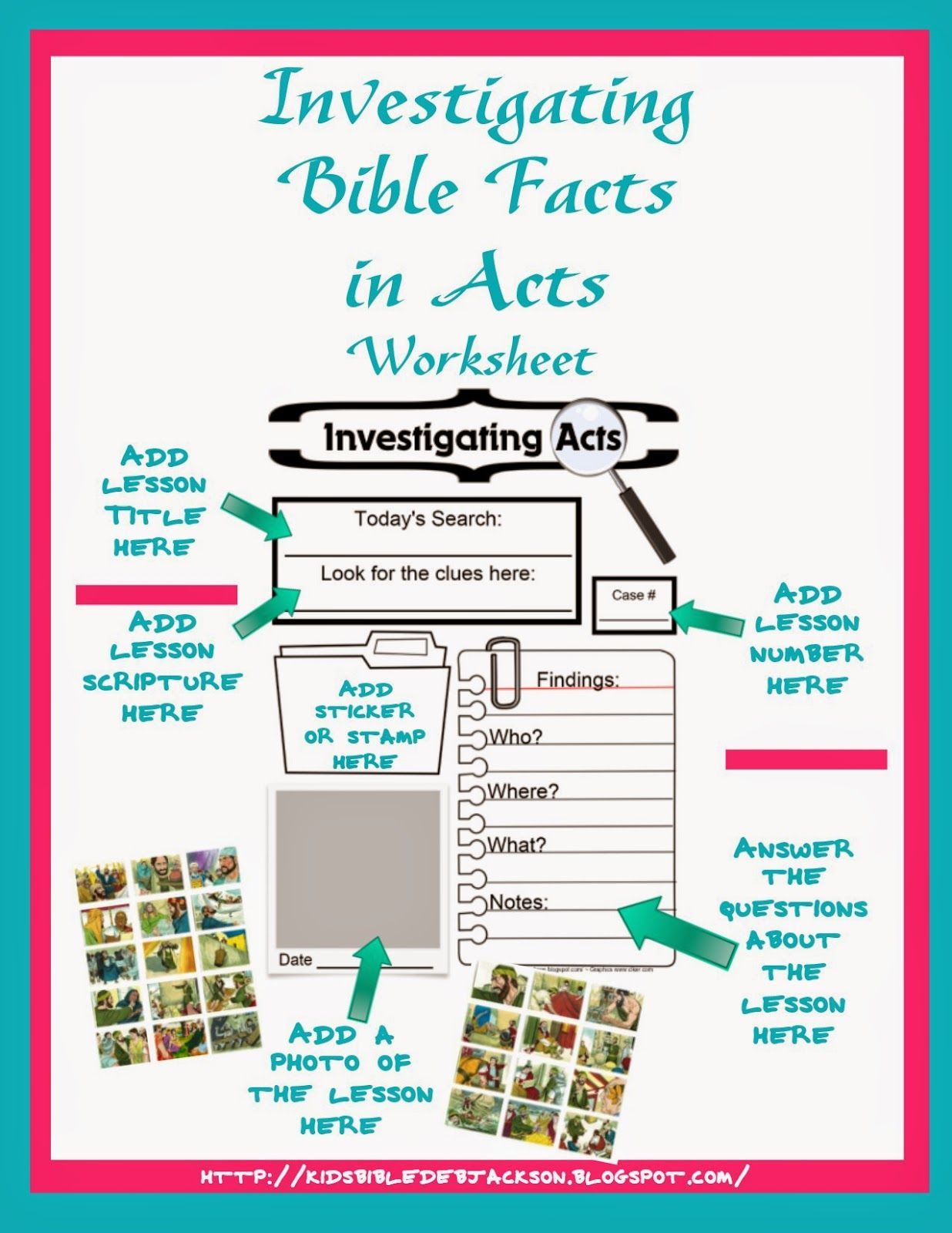 IFA: Investigating Bible Facts in Acts Supplies | Teach your