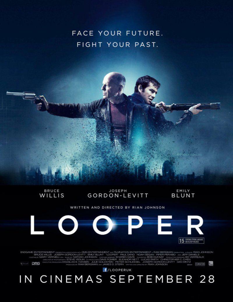Bruce Willis B LICENSED USA NEW Looper Movie POSTER 27x40 Joseph Gordon-Levitt
