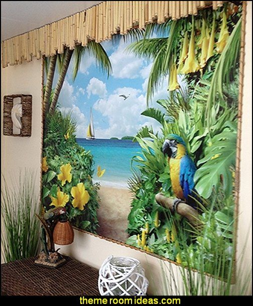 Decorating Theme Bedrooms Maries Manor Tropical Beach Style
