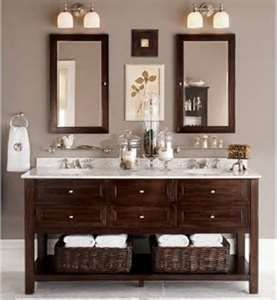 Vanity For Guest Bathroom With Space For Chair Access. Old World Style With  A New