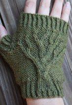 Tree of Life Fingerless Gloves Pattern