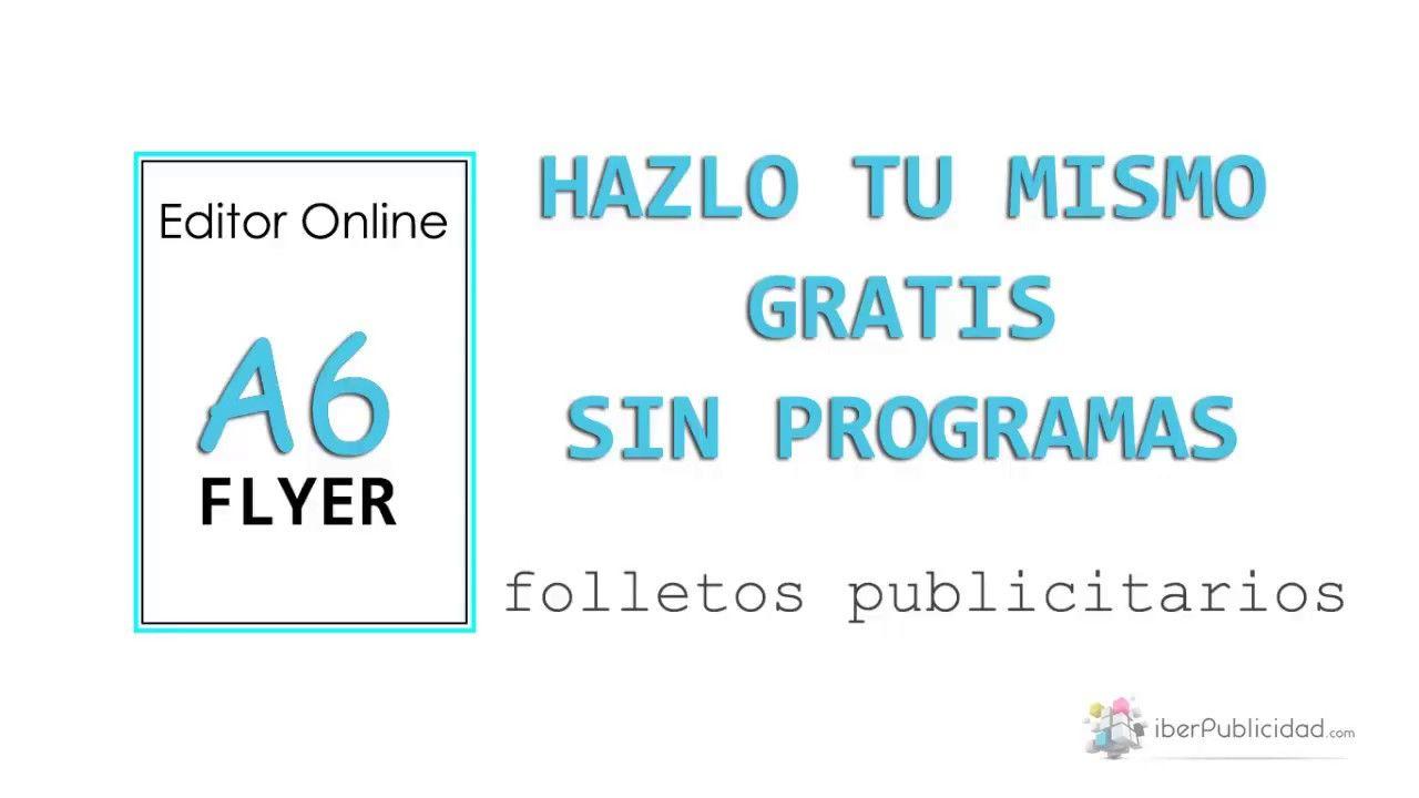 hacer flyers publicitarios online gratis flyers gratis online