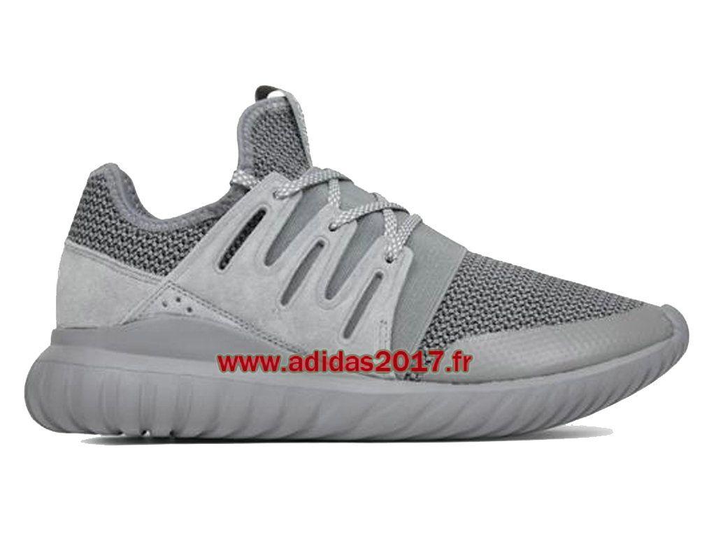 Adidas Tubular Radial - Chaussures de Originals Pas Cher Pour Homme/Femme  Gris S76718