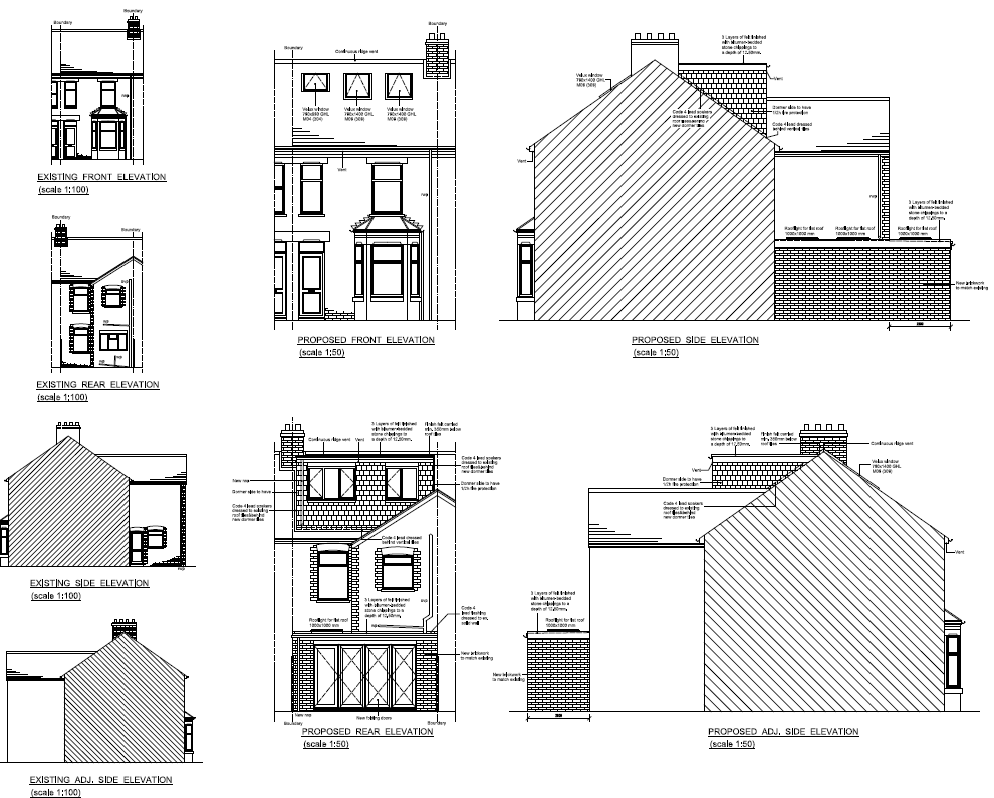 loft conversion plans for victorian terraced house