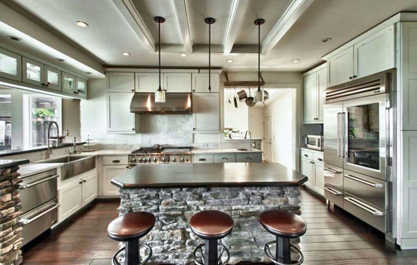 23 Stunning Gourmet Kitchen Design Ideas | Kitchen, Kitchen ...