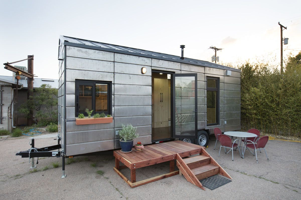 The Saltbox Is The First Iteration Of The Novel Extraordinary Structures Panelized Construction System As Appli Tiny House On Wheels Tiny House House On Wheels