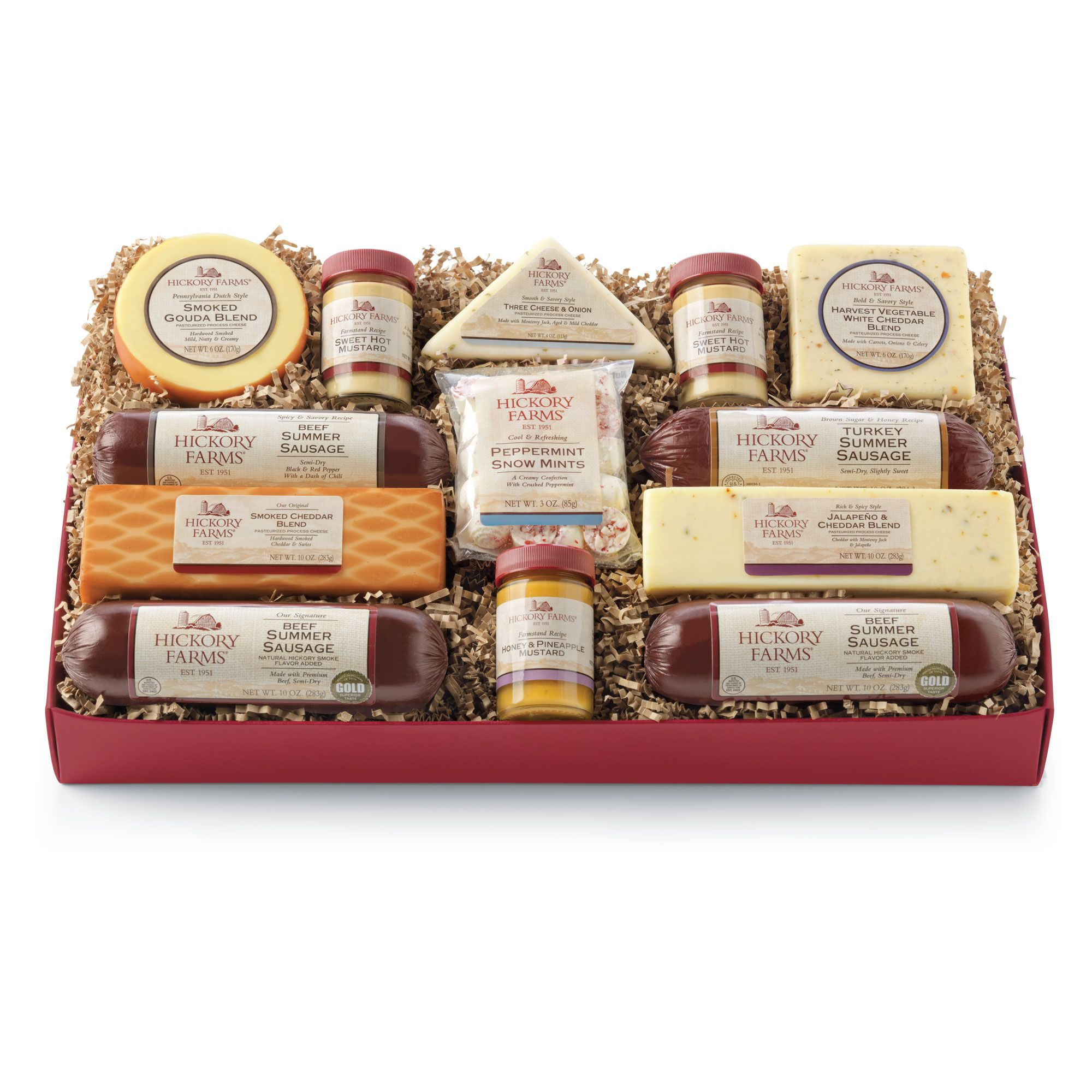 Deluxe Smokehouse Collection | Food | Pinterest | Hickory farms ...