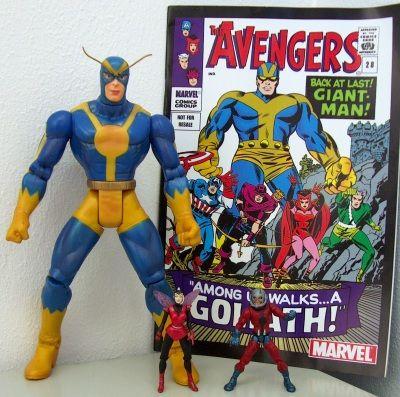 Image result for marvel legends wasp goliath