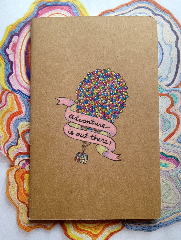 Notebook Cover Art : Disney pixar up moleskine pocket notebook things i ll