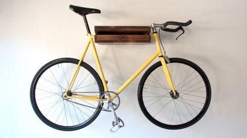 photo du vélo étagère