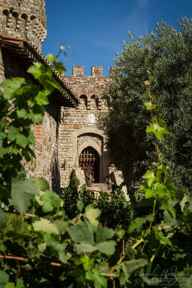 Castle? Wine Tasting? Napa Valley? LOVE! Castello di Amorosa   Calistoga, CA © 2014 Angela Andrieux