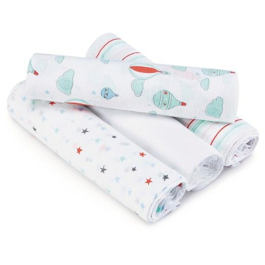 With its comforting breathability and touchable softness, the aden ® by aden + anais ® classic muslin swaddle was the first of its kind outside of Australia and continues to set the standard around the world. A go-to for bedtime and beyond, it can be used in a variety of ways and stays soft wash after wash.