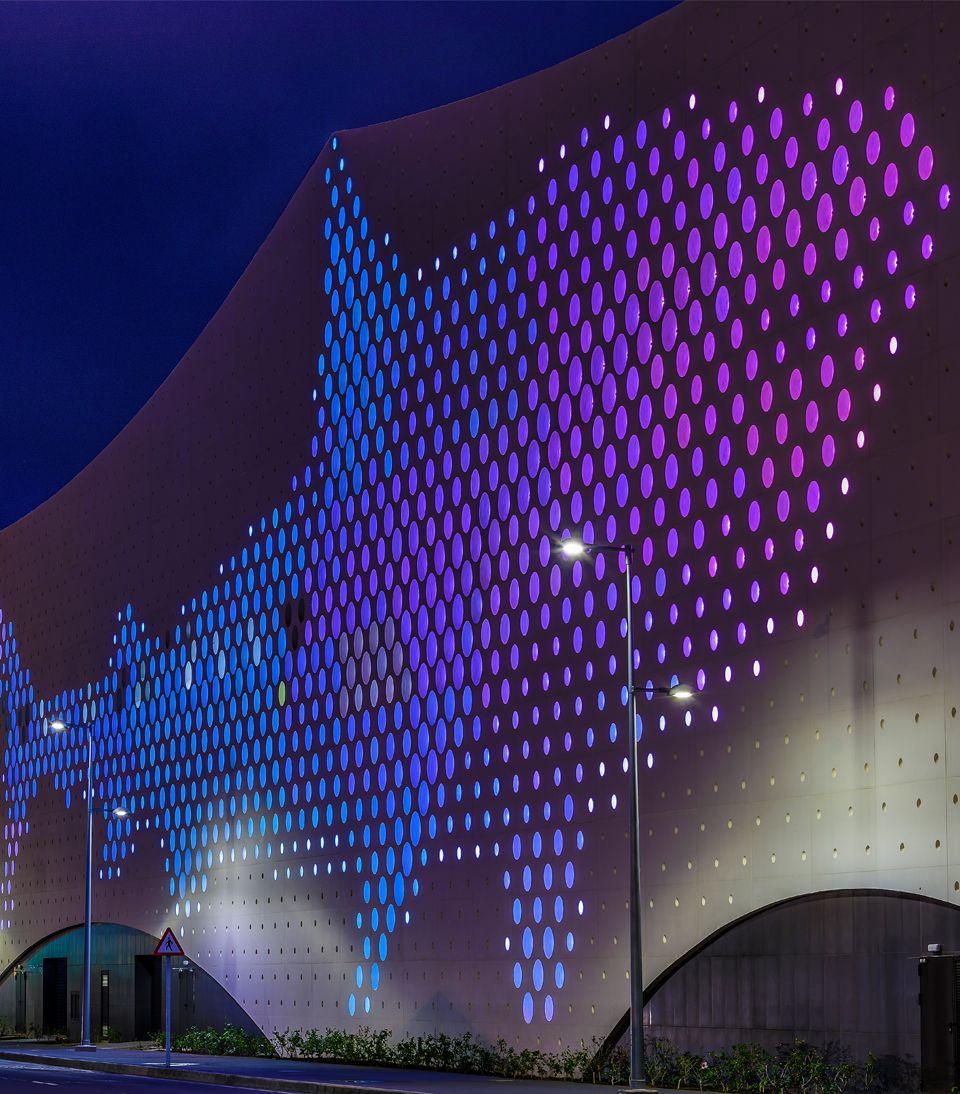 Light Life Arkoslight Structure Art Facade