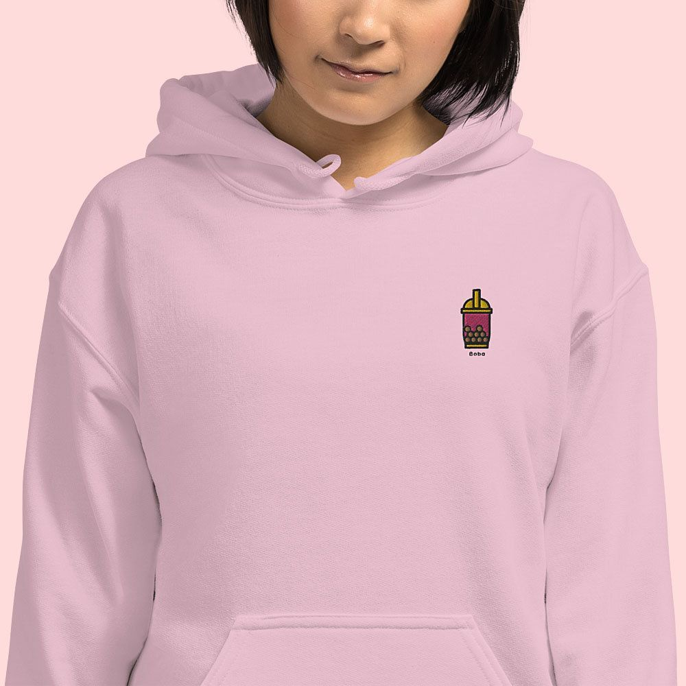 20% off on these cute embroidered hoodies in multiple colors!