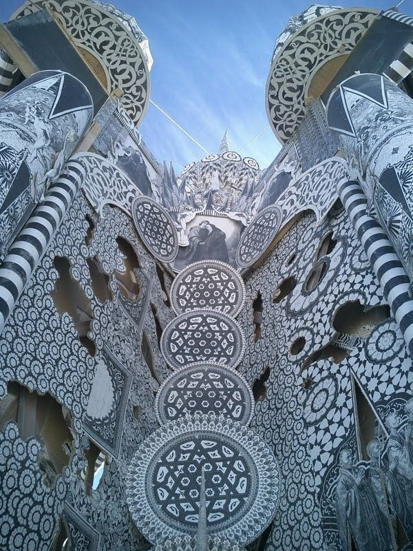 Temporary Temple At Burning Man #architecture, https://facebook.com/apps/application.php?id=106186096099420, #bestofpinterest