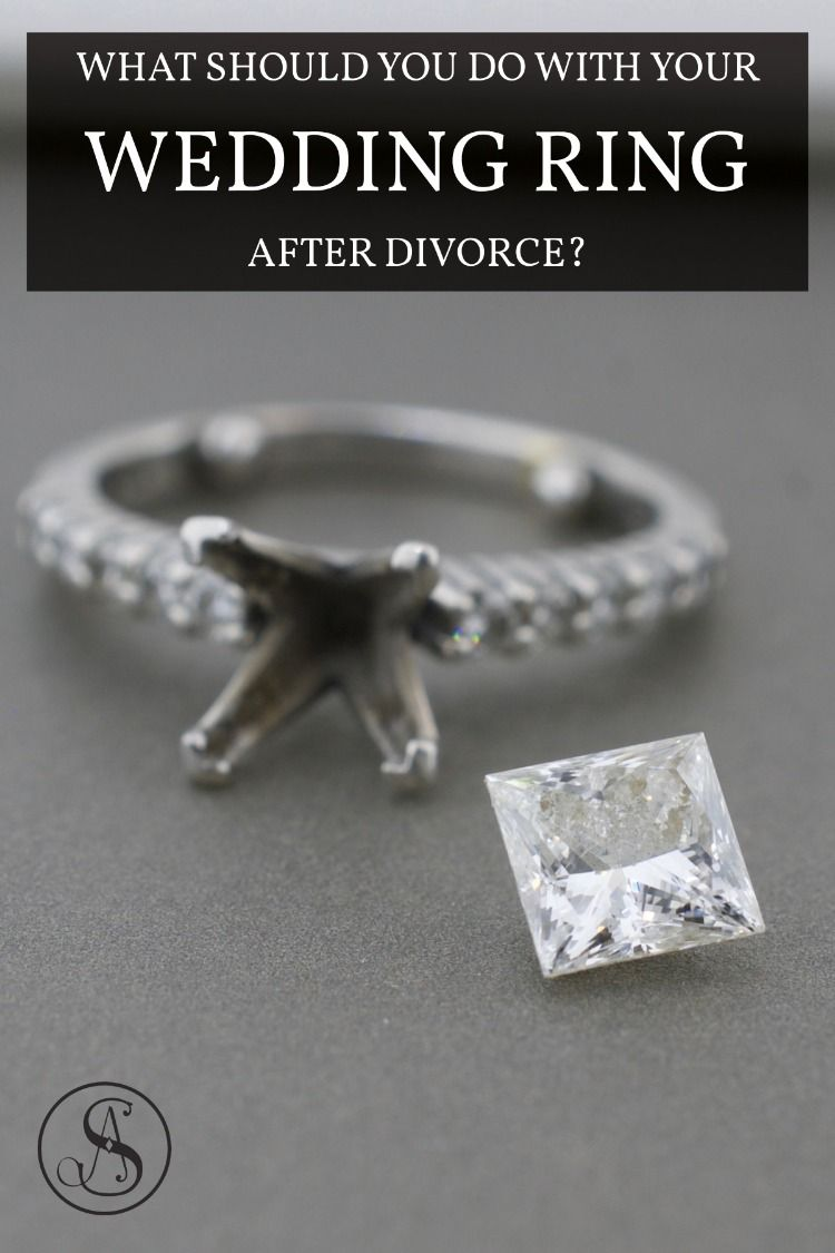 Divorce Rings Resetting A Diamond Ring After Divorce Wedding