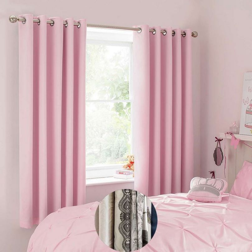 Curtain Colors For Master Bedroom And Best Curtain Color For Grey Walls Simple Ideas For Kitchen Decor Pink Bedroom Curtains Light Pink Bedrooms Girl Curtains