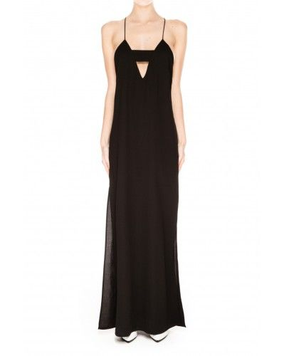 FINDERS KEEPERS - MIDNIGHT MAXI DRESS IN BLACK
