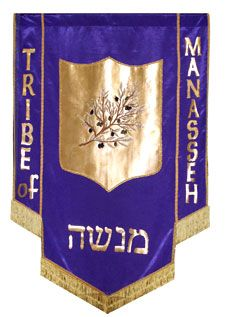 Image result for The Tribal Flags of manasseh
