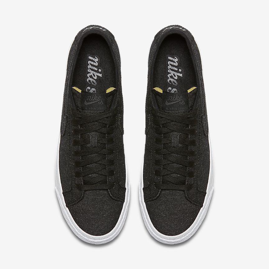100% authentic f284b 9058e Nike SB Zoom Blazer Low Canvas Deconstructed Men's Skateboarding Shoe