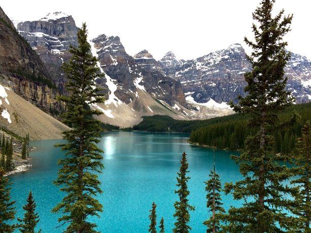 Moraine Lake Lodge Alberta Canada By Mirjana Zarnec