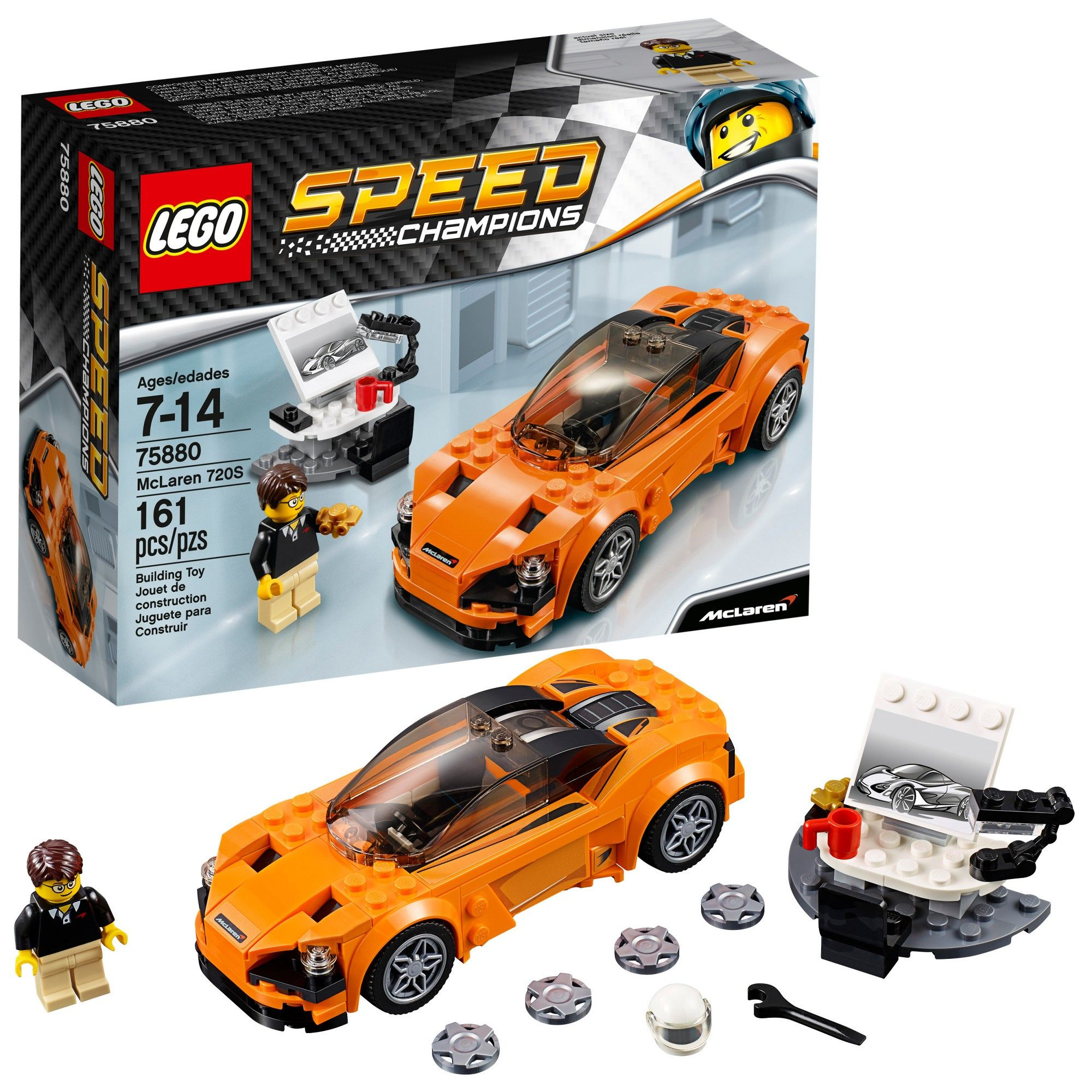 75880 McLaren 720S LEGO Speed Champions Set New Sealed