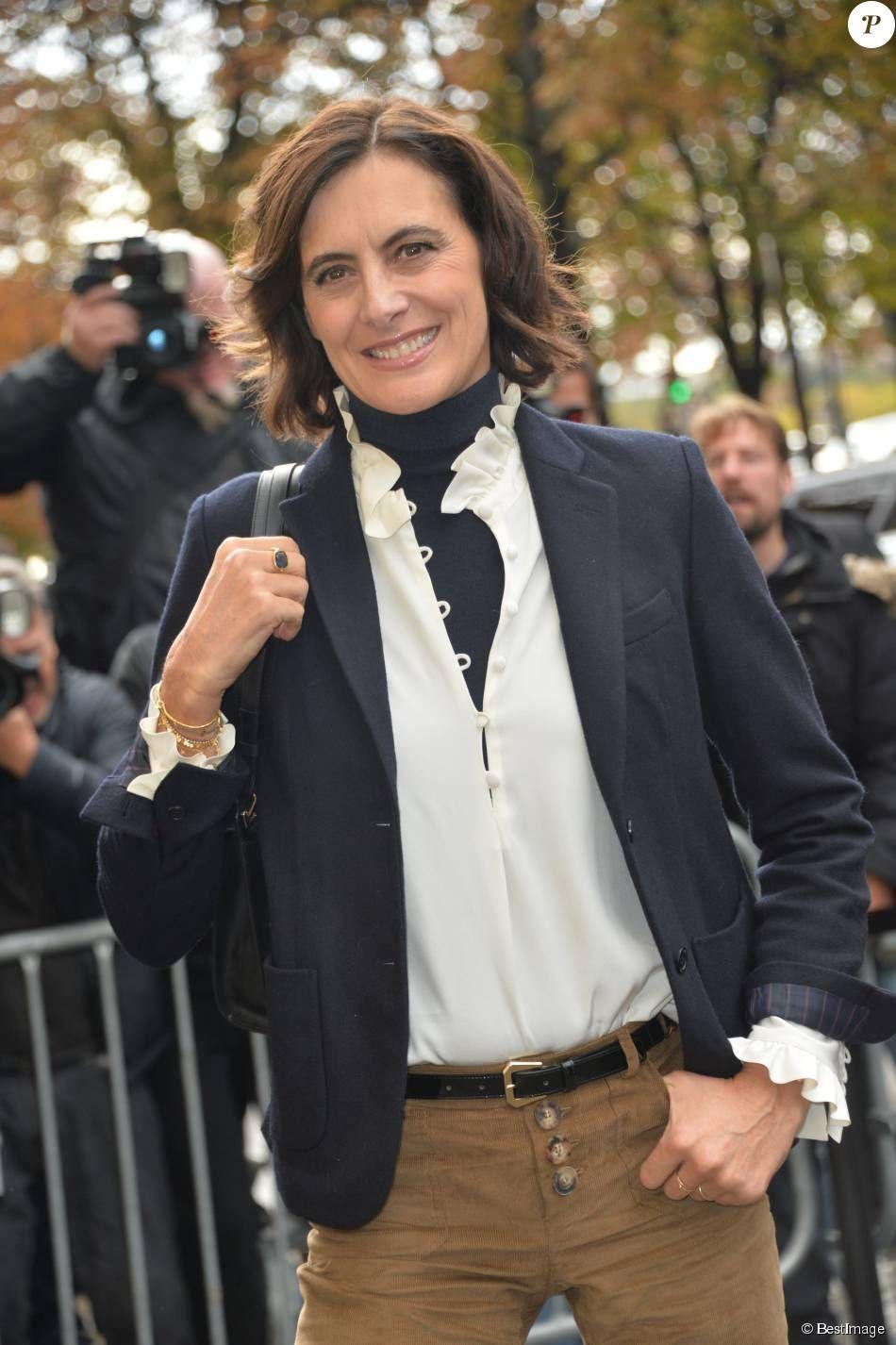 9785c5cf0b919 PHOTOS - Inès de la Fressange - Arrivées au défilé de mode Chanel ...