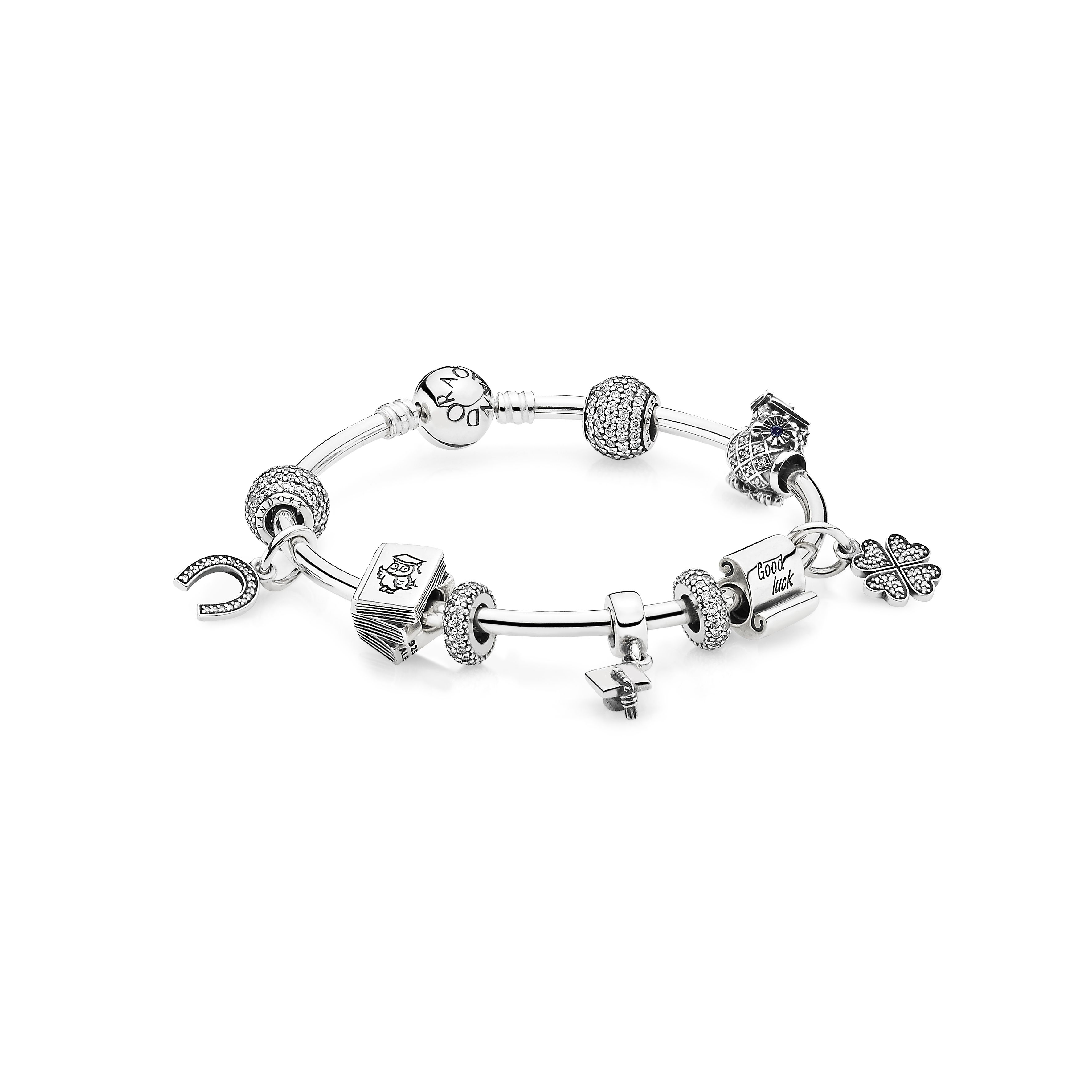 pando dangle zirconia mother charms pendant pin fit for mom clear charm bracelet cubic beloved cz pandora