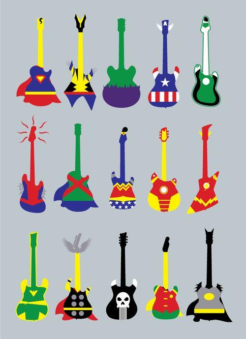 Guitar Heroes by biotwist