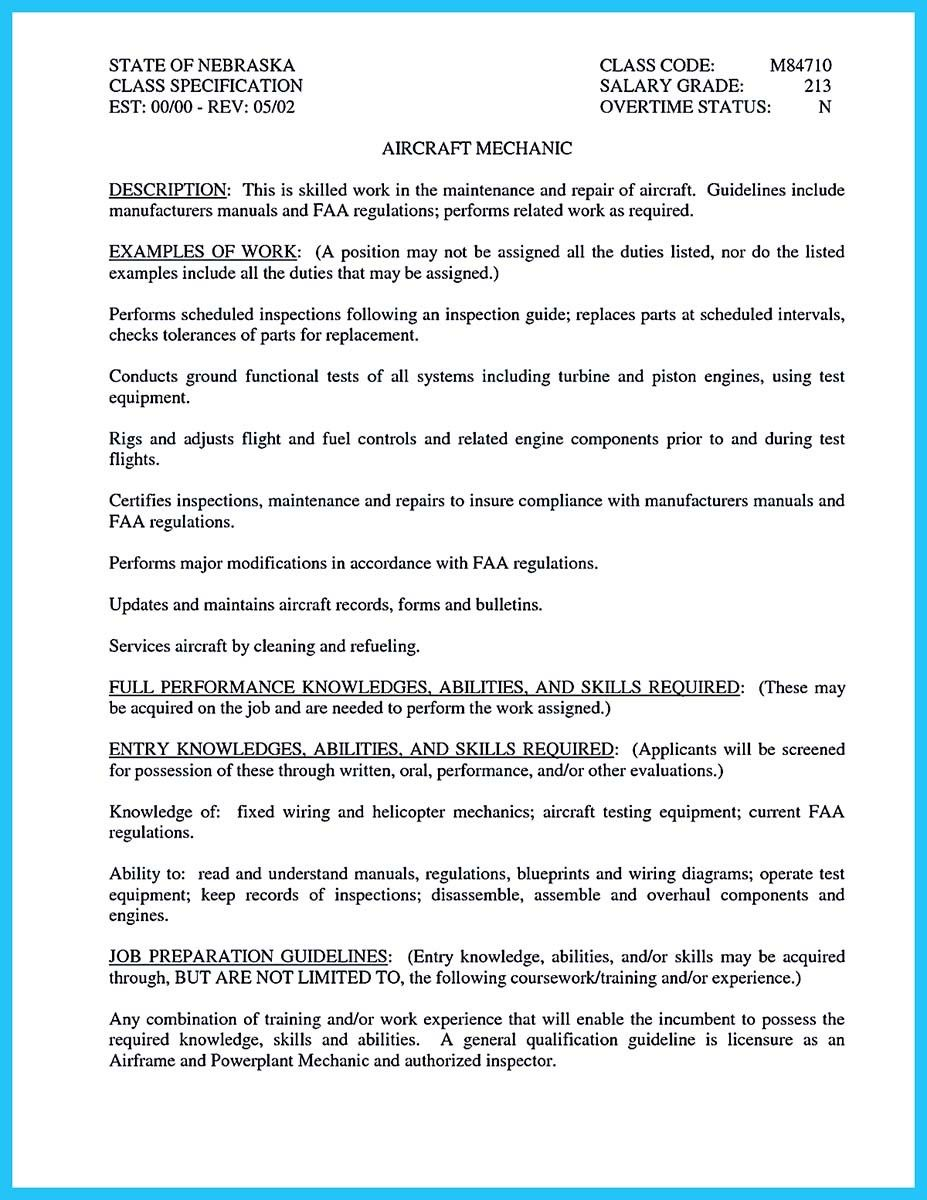 Awesome Convincing Design And Layout For Aircraft Mechanic Resume Http Snefci Org Convincing Design Layout Aircraft Mecha Aircraft Mechanics Resume Mechanic