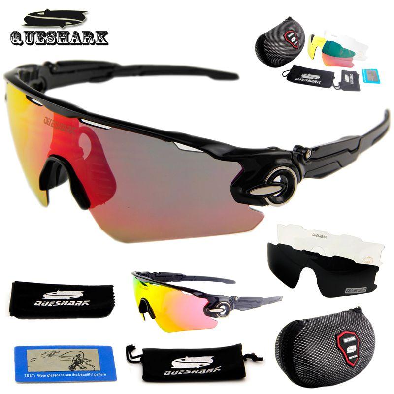 4fa04319cfd Queshark Polarized Cycling Sunglasses Racing Bicycle Goggles Bike Glasses  UV400 TR90 3 Lens Ski Trekking Tour De France Eyewear   Price   32.27    FREE ...
