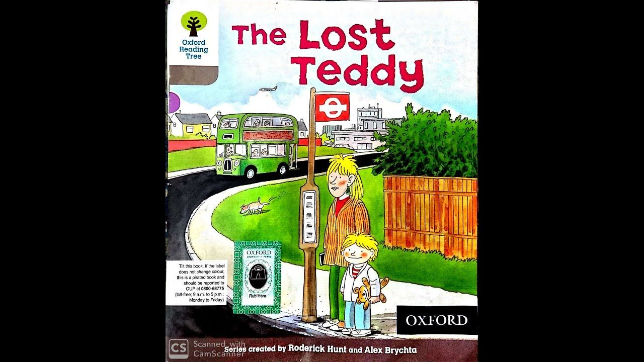 The Lost Teddy Oxford Reading Tree For Toddlers Wordless Story Reading Tree Oxford Reading Tree Teddy [ 720 x 1280 Pixel ]