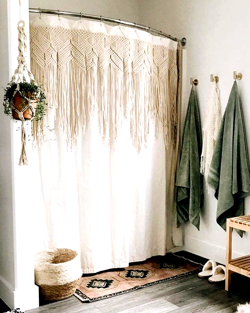 "Urban Outfitters Home On Instagram: ""A Macramé Shower"