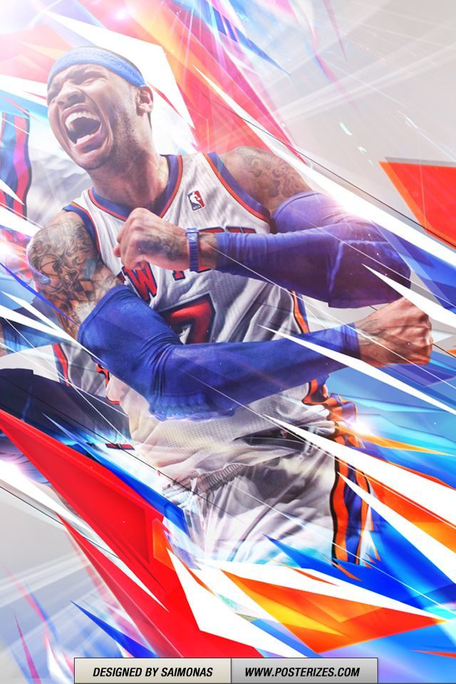Nb Carmelo Anthony Iphone Ipod Wallpaper
