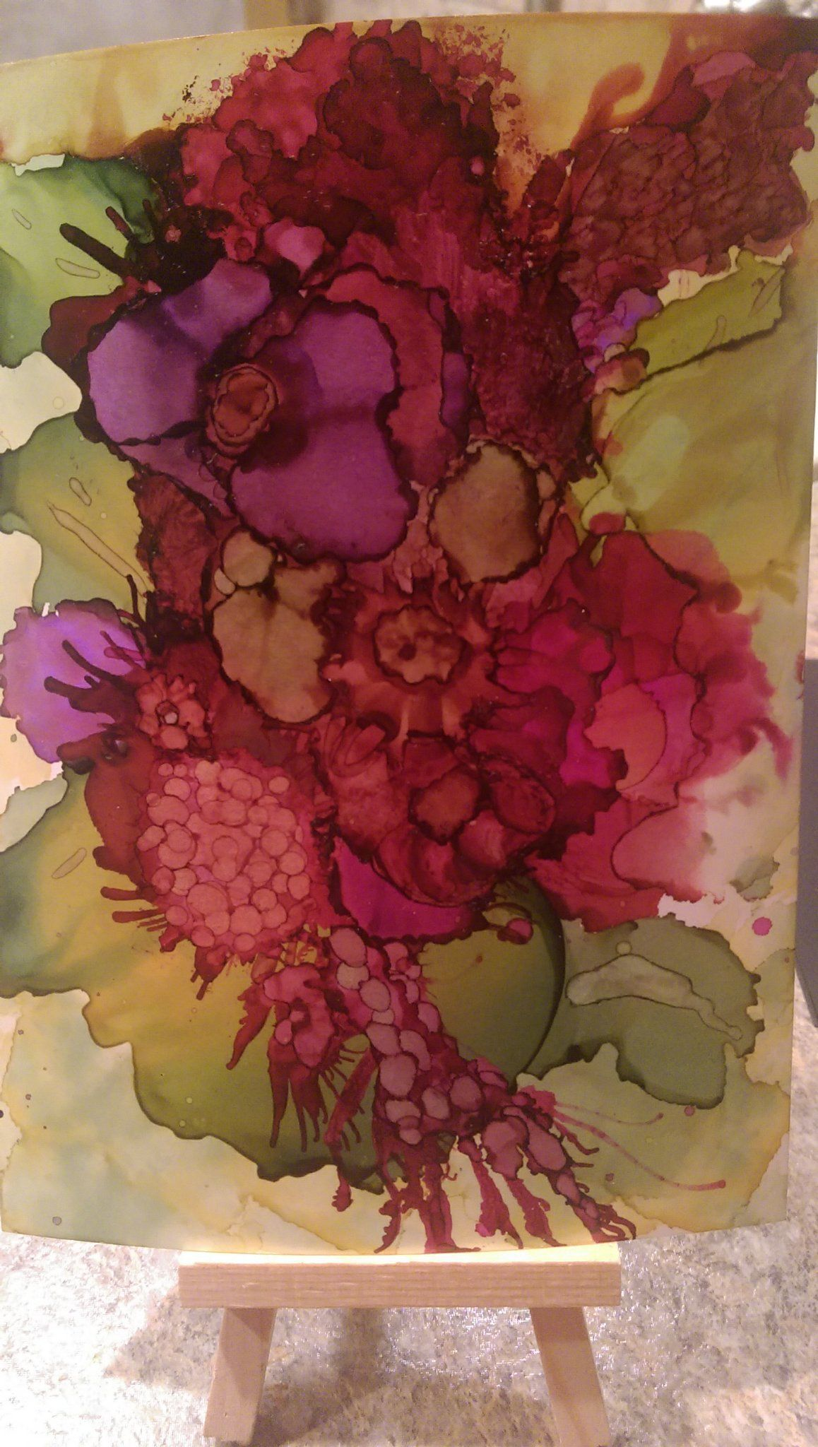 5x7 alcohol ink