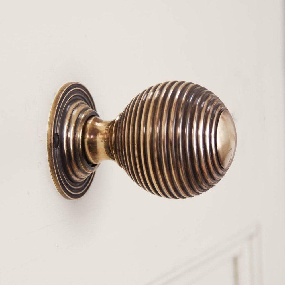 Superior 1920 Brass Door Knobs