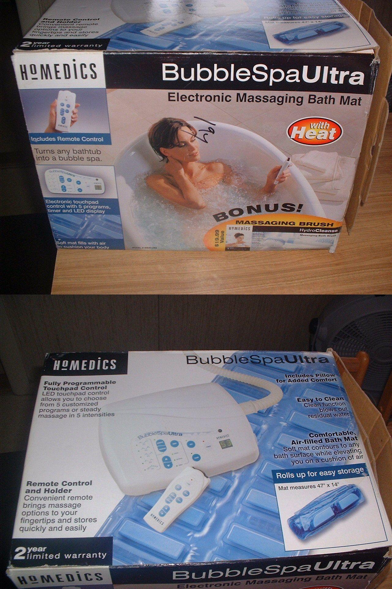 Bubble Baths: Homedics Bubble Spa Ultra Massaging Bath Mat #Bmat ...