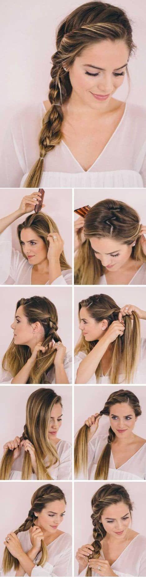 32 Peinados Faciles Y Rapidos Paso A Paso Modelos 2018 Hair Hair