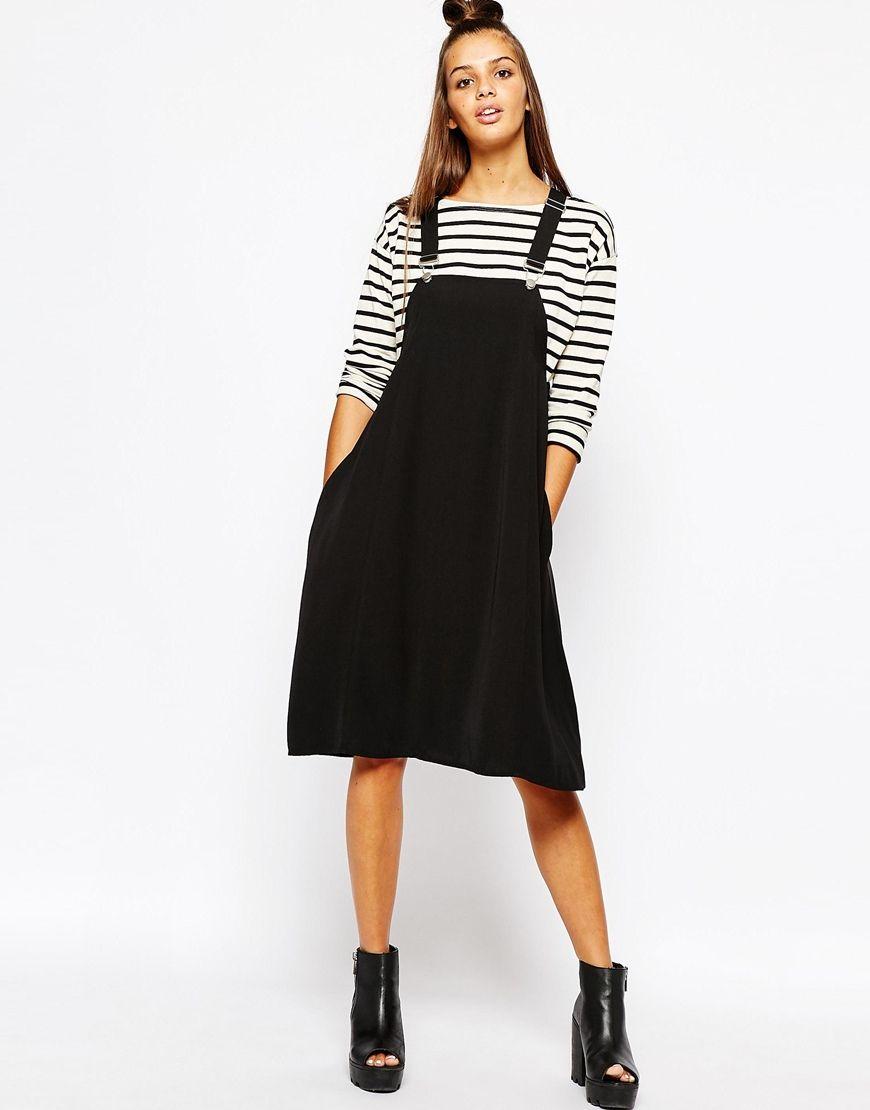6ae5c8aa1ea Image 4 of Monki Overall Dress